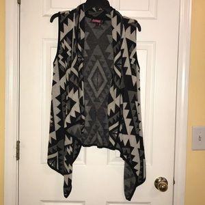 Sleeveless sweater